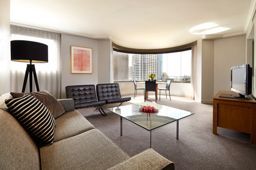 Adina Sydney Apartment Hotel Premier Two Bedroom Lounge